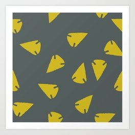 ARROWHEADS-CITRUS Art Print