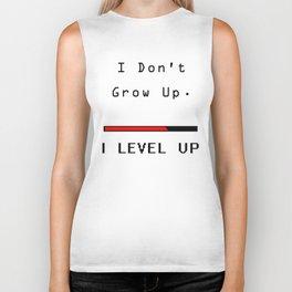 I DOn't Grow Up, I Level Up - Nerd Gamer Biker Tank
