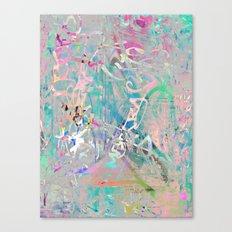 Graffiti Texture Canvas Print