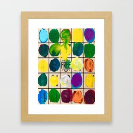Free Play Every Day  Framed Art Print