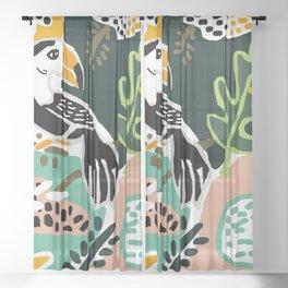 The Toucan Sheer Curtain