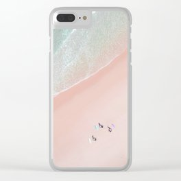 Surf Yoga II Clear iPhone Case