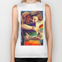 larry stylinson Biker Tanks featuring Home - Larry by art-changes