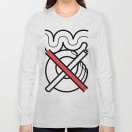 No Fumar/No Smoking Long Sleeve T-shirt