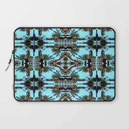 Architectural Palm Trees II Pattern Laptop Sleeve