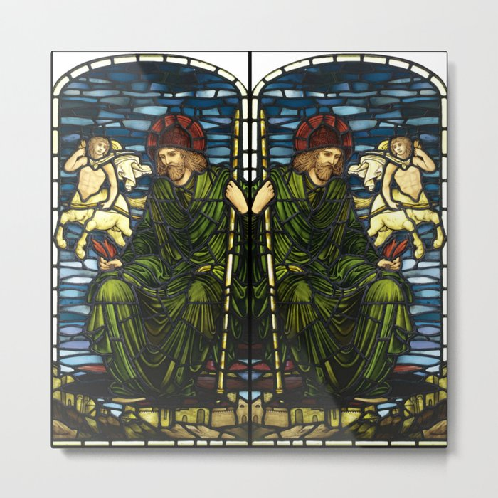 "Edward Burne-Jones ""Jupiter"" Metal Print"