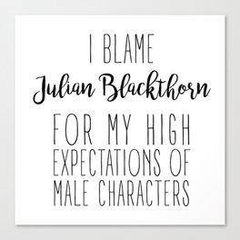 High Expectations - Julian Blackthorn Canvas Print