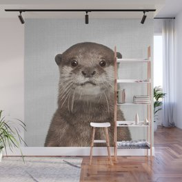 Otter - Colorful Wall Mural