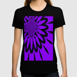 The Modern Flower Purple T-shirt