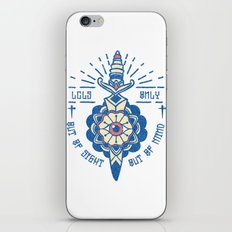 Out of Sight, Out of Mind iPhone & iPod Skin