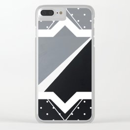 London - star graphic Clear iPhone Case