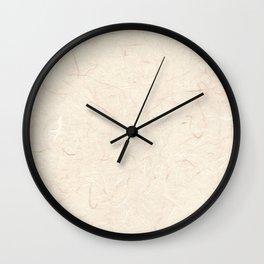 Hanji pale pink ver. Wall Clock