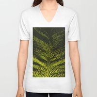 christmas tree V-neck T-shirts featuring christmas tree by gzm_guvenc