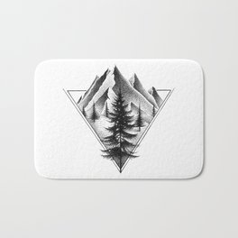 NORTHERN MOUNTAINS II Bath Mat