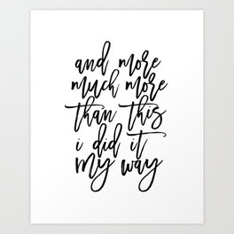 PRINTABLE Art,Frank Quote,Inspirational Quote,Hand Lettering,Canvas Print,Typography Print Art Print