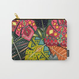 boho hojas forest Carry-All Pouch