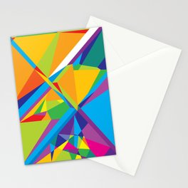 bright abstraction 3 Stationery Cards