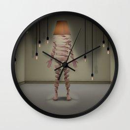A light man Wall Clock
