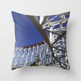 California Scream-in' Coaster II Throw Pillow