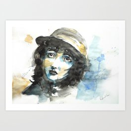 Love Mime Art Print