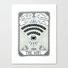 The Wifi Canvas Print