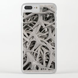 REMNANTS OF MATING SEASON Clear iPhone Case
