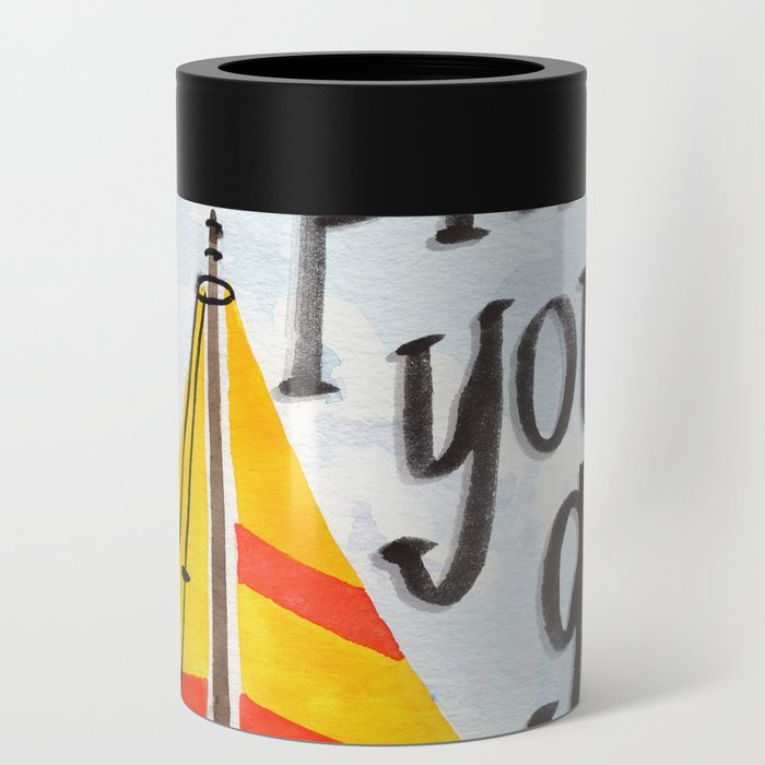 Oh the Places You'll Go - Dr. Seuss Can Cooler