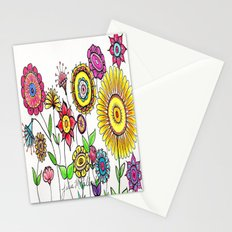 Bright Flowers Stationery Cards