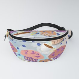 Muffins and Coffee Fanny Pack