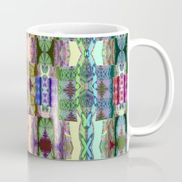 Magical Textile Rainbow Abstract Coffee Mug