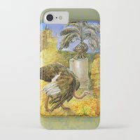 ostrich iPhone & iPod Cases featuring Ostrich by Natalie Berman