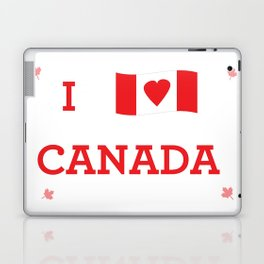 I heart Canada Laptop & iPad Skin