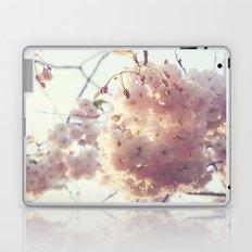 sunlit cherryflowers Laptop & iPad Skin