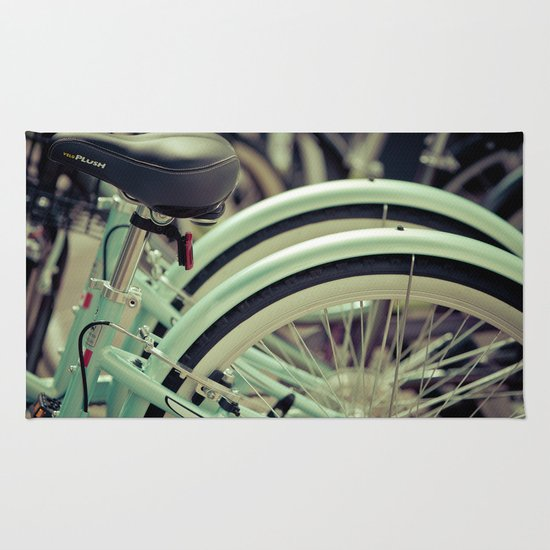 """Life is like a ten speed bicycle. Most of us have gears we never use."" ~Charles M. Schulz~ Rug"