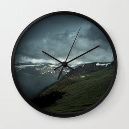 Scandinavian Landscape Wall Clock