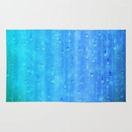 Wet Blue Rug