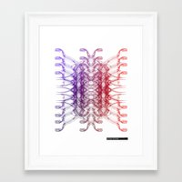 dinosaurs Framed Art Prints featuring Dinosaurs by Stefano Stefanini