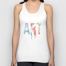Art & Protest Unisex Tank Top