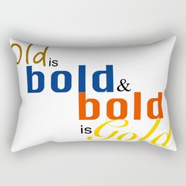 OldbbGold Rectangular Pillow