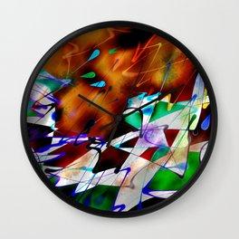 Abstract Inc. Wall Clock