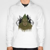 returns Hoodies featuring The grinch returns by Tish