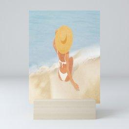 Beach Morning Mini Art Print