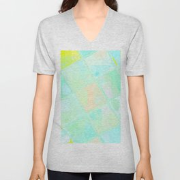 Re-Created Mirrored SQ LX by Robert S. Lee Unisex V-Neck