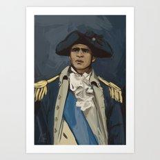 George Washinghton Art Print