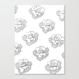 comfortinrepetition Canvas Print