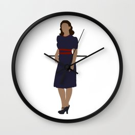 """What's your name?"" ""Agent."" Wall Clock"