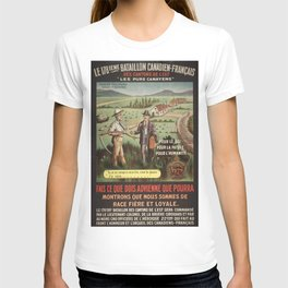 Vintage poster - WWI Canadian Recruiting T-shirt