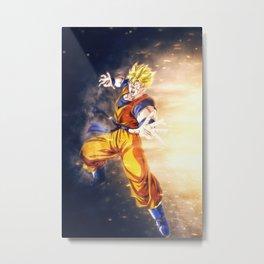 Gohan Dragon Ball Metal Print