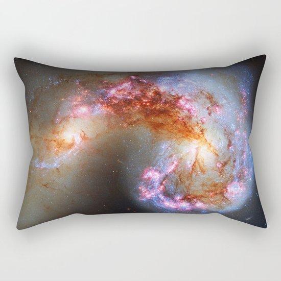Antennae Galaxies Rectangular Pillow