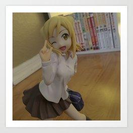 Hikari, Demi-chan! Art Print